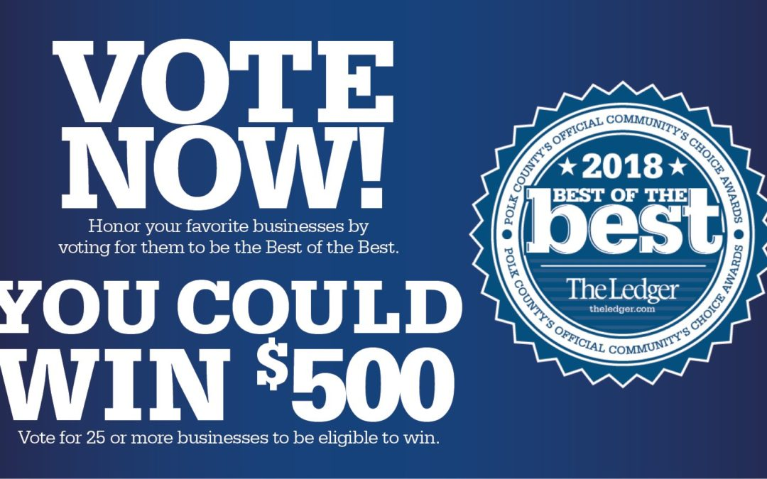 Vote for the Best of the Best in Downtown Lakeland