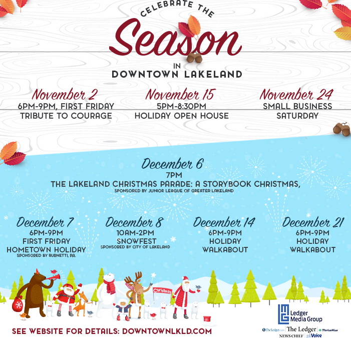 Downtown Holiday Events–What's New and What's Changing!
