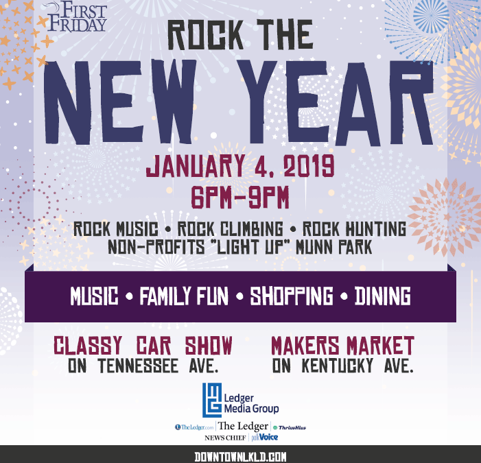 January 4th First Friday: Rock the New Year!
