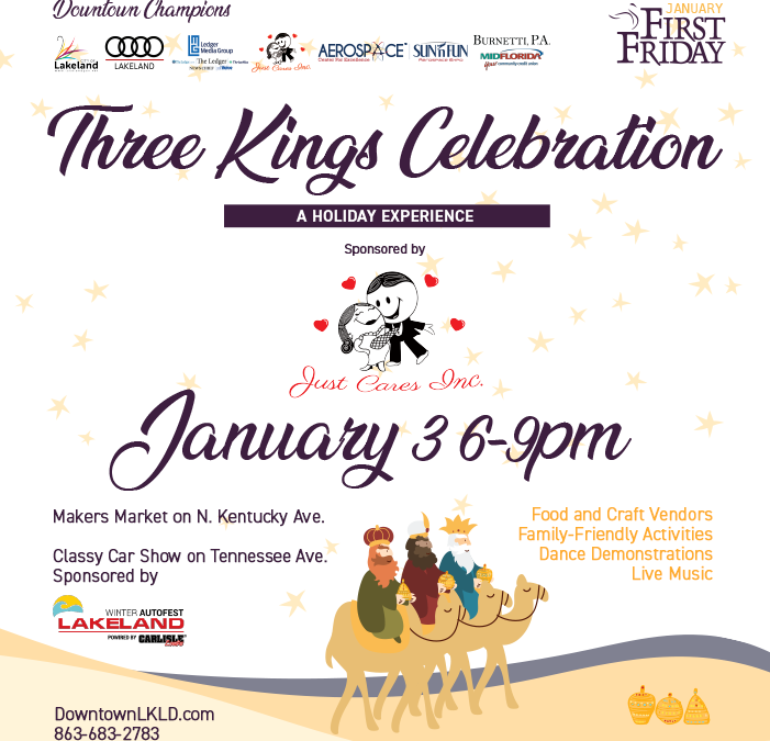 January 3 First Friday: Three Kings Celebration