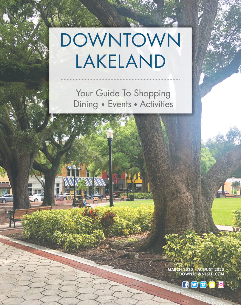 PDF of the Downtown Visitor's Guide
