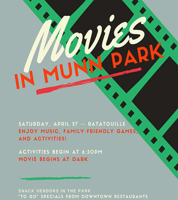 Movies in Munn Park: Ratatouille