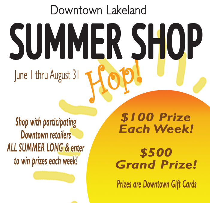 Downtown Summer Shop Hop