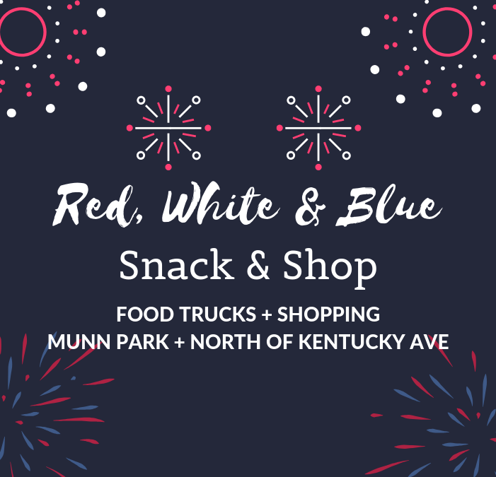 """Red, White & Blue–Snack & Shop!"""