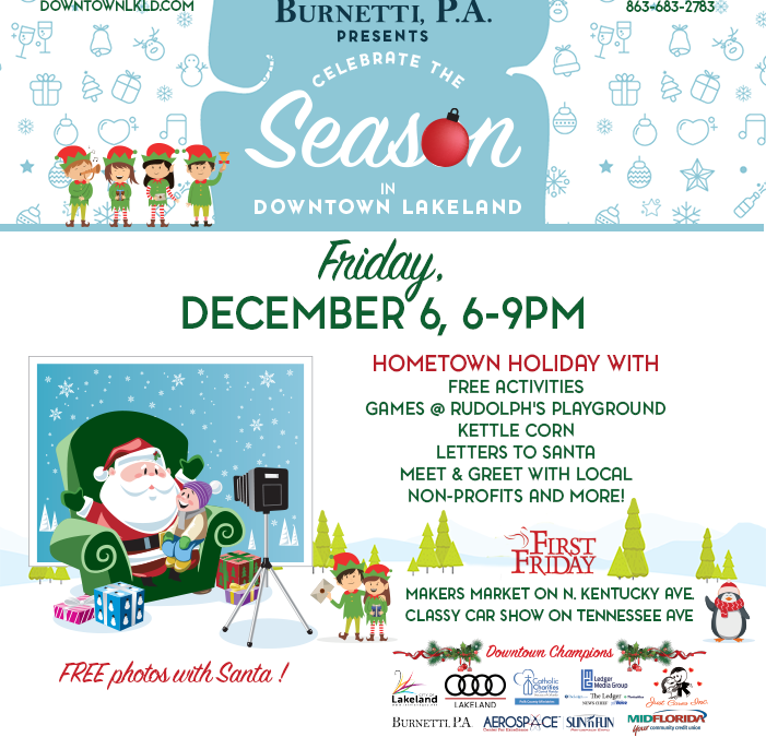 December 6 First Friday: Hometown Holiday!