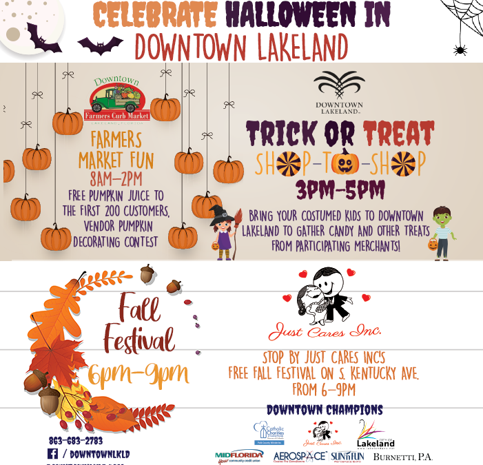 Celebrate Halloween in Downtown Lakeland!
