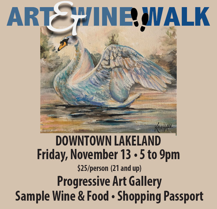 Art & Wine Walk – November 13