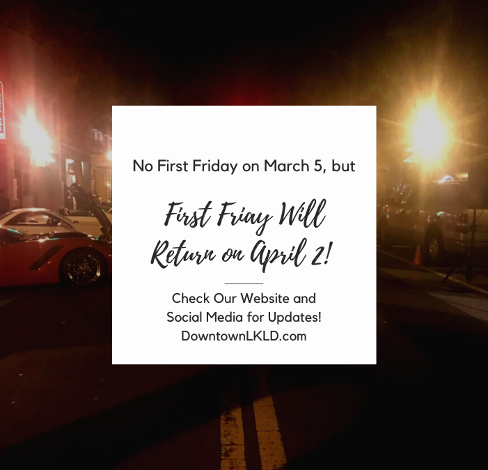 First Fridays Return in April with SUN 'n FUN
