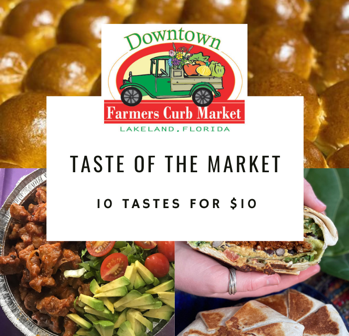 Taste of the Market, March 27