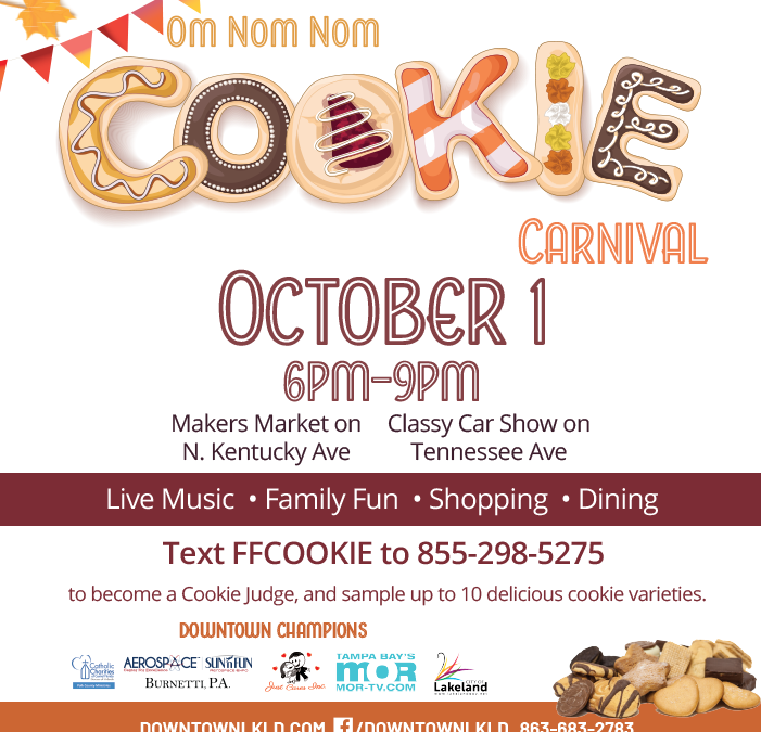 First Friday: Cookie Carnival